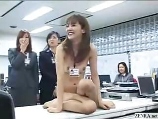 New Japanese female employees...