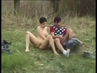 Forest Fuck for Horny Couple ...