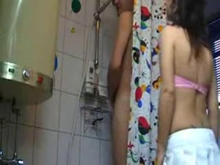 Bathroom Skinny Teen