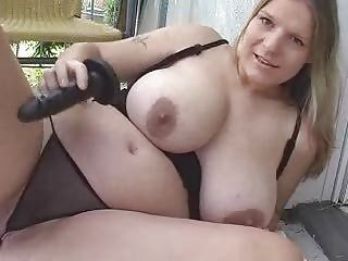 Blond Chubby Girl Bringing off for Webcam (DM)