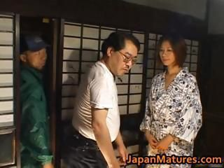 Asian Japanese Mature Older Wife