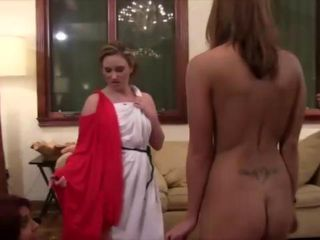 Movie showing sexy sorority g...