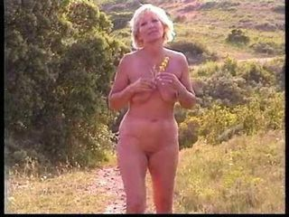 Chubby mature slut with saggy...
