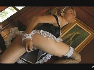 Babe Dildo Maid Uniform