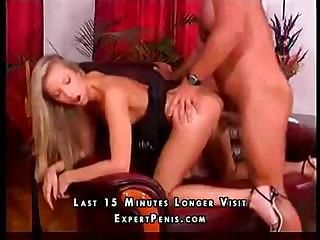 Sweet young blonde gets fucked by an experienced older lover