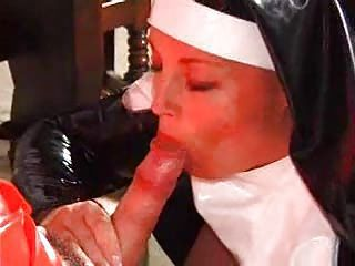 Blowjob Clothed Mature Nun Uniform
