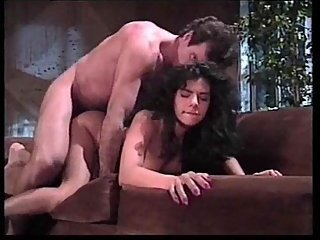 Vintage sex with busty brunette