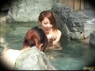 Asian Babe Japanese Pool Voyeur