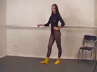 Amateur Flexible Pantyhose Teen