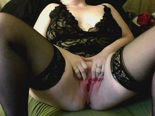 Amateur Chubby Lingerie Pussy Stockings Wife