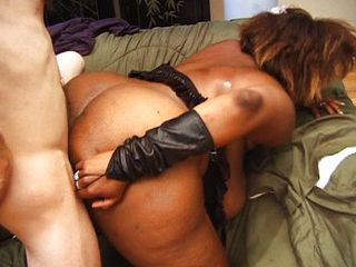 Ass  Doggystyle Ebony Interracial