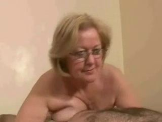 Amateur Glasses Mature Older