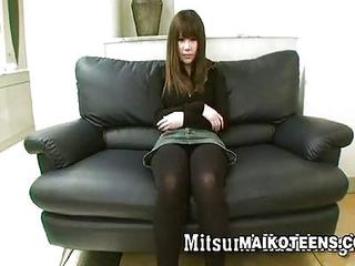 Shy But Horny Japanese Girl Mutsumi Kash...