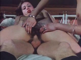 European German Hairy Riding Teen Threesome Vintage