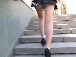 Bask Stockings Upskirt