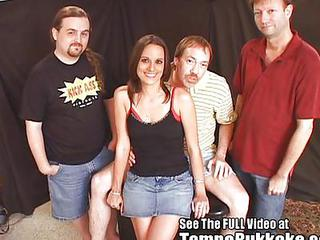 Amateur Cuckold Gangbang  Skirt Wife