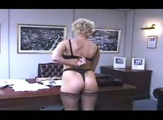 Ass British European Lesbian Lingerie  Office Secretary Stockings