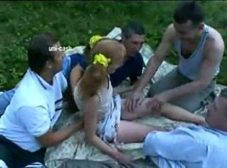 Amateur Daddy Gangbang Old and Young Outdoor Teen