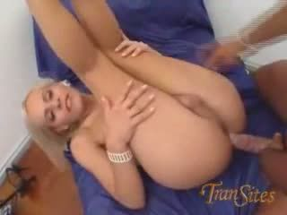 Tgirl Fucked And Facialized