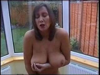 Amateur Big Tits Homemade Masturbating  Natural Nipples  Wife