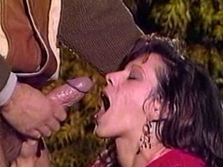Cumshot  Outdoor Swallow Vintage