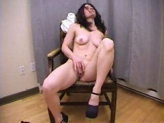 Amateur Hairy Masturbating Solo Teen