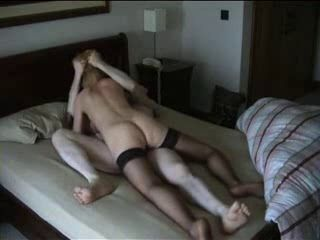 Cheating Blonde Wife Riding BFs Cock on Hidden Cam