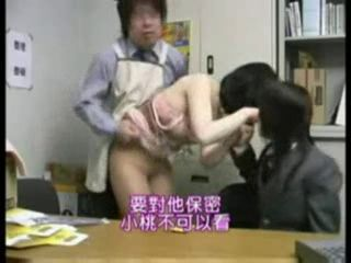Asian Daughter HiddenCam Mom Office Old and Young Voyeur