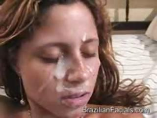 Brazilian Cumshot Facial Latina Teen