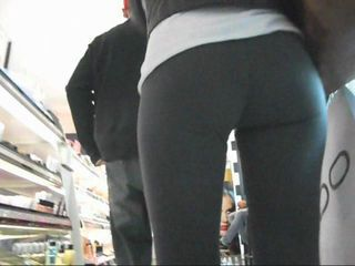 A cute 21yr old blonde hottie upskirted at the local mall