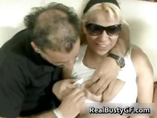 Busty blonde latin darling in sexy part6