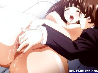 Bondage hentai with bigtits hard fucked by he