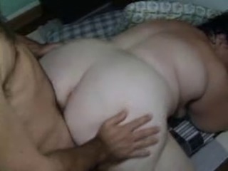 Ugly BBW getting fucked frm behind