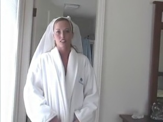 Amateur Bride Homemade  Wife
