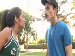 Cheerleader Daddy Old and Young Outdoor Teen Uniform
