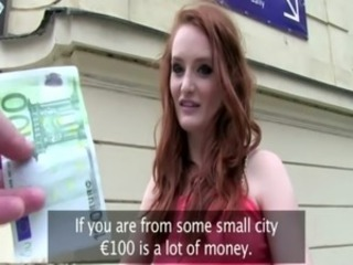 Redhead euro battle-axe wants some money be proper of sexy acts free