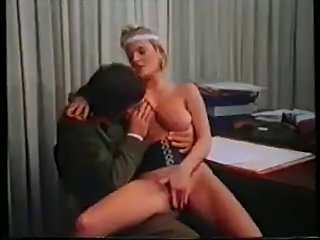 Big Tits  Office Vintage