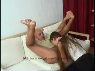 Young girl fucks an old man free