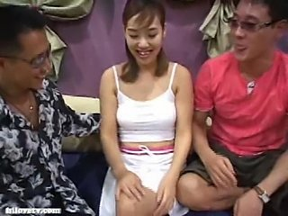 Asian Korean  Threesome