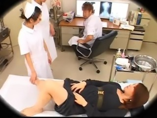Asian Doctor Nurse Uniform Voyeur