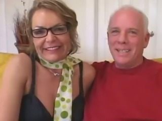 Older Mom Seduces Young Stud