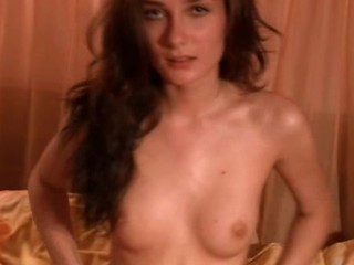 Skinny Russian Girl Stripping