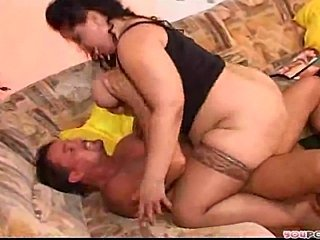 Beautiful BBW MILF is a day-dream for the common man.