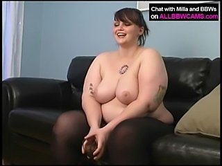 BBW AMAZING MASTERBATING. COME  ... unconforming