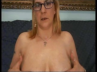 Glasses are sexy old nurturer gives son a lesson fuck anal