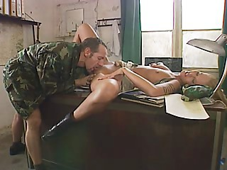 Amazing Army Licking  Pornstar