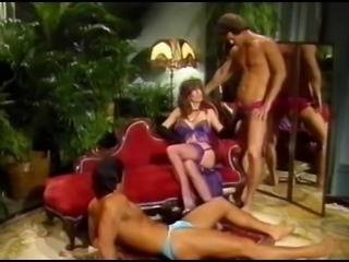 Lingerie  Pornstar Stockings Threesome Vintage