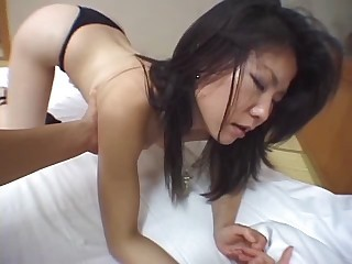 Japanese Amatueur Takes It All - Asian sex video -