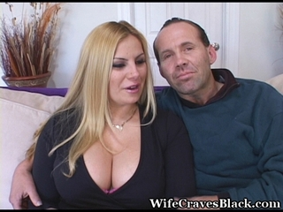 Big Tits Cuckold  Natural Wife