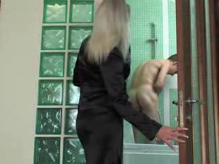 Bathroom Mature Mom Old and Young Russian Voyeur